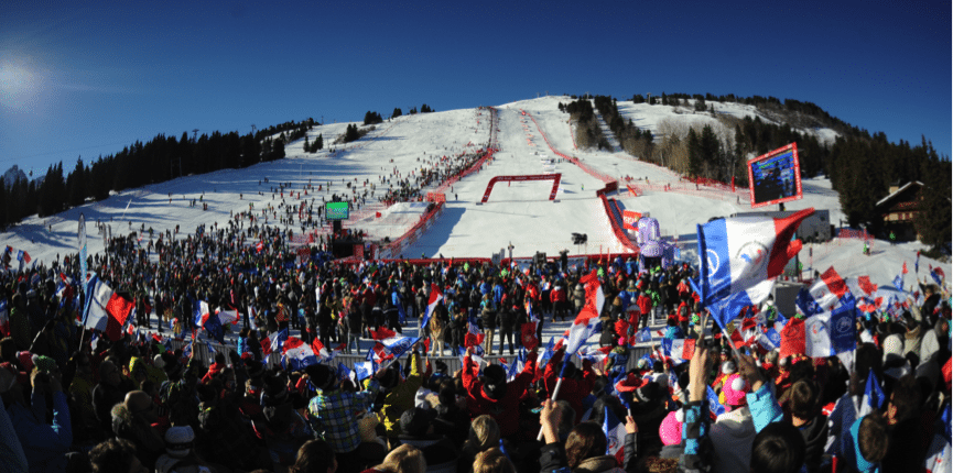 Ladies Alpine World Cup Courchevel