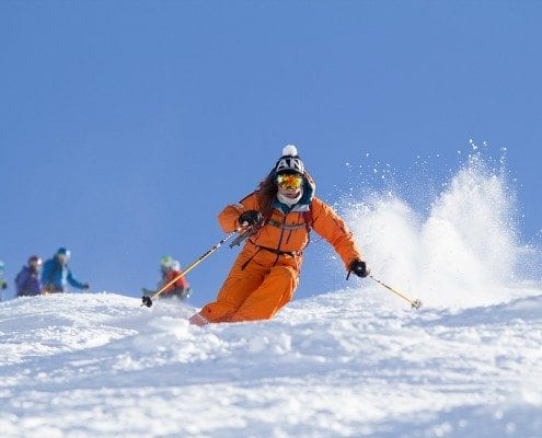 Our Ski instructor courses trainers lead by example