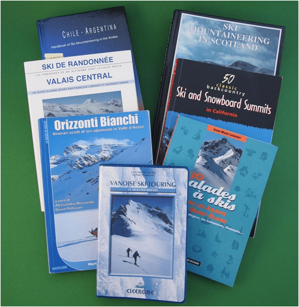 Guide books are a great way to narrow down the choices for your EMS routes
