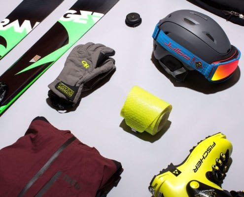Gear Patrol ski kit for the season